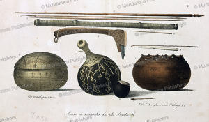 Weapons and tools from Hawaii, Louis Choris, 1820 | Photos and Images | Travel