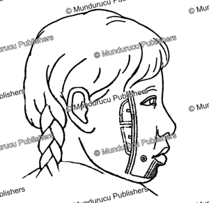 Chukchi face tattoo pattern, Waldermar Bogoras, 1904 | Photos and Images | Travel