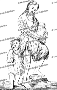 chukchi woman with child, 1854