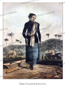 Javanese woman of lower class, William Daniell, 1824 | Photos and Images | Travel