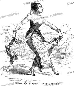 javanese dancing maiden, s. friedmann, 1868