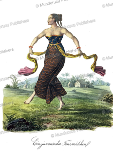 Javanese dancing maiden, J. Schiess, 1829 | Photos and Images | Travel