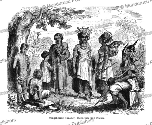 noble and common people from java, gustav spiess, 1864