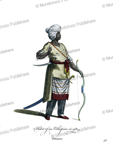 man from ethiopia in 1581, jean jacques boissard, 1760