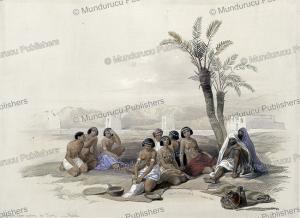 Abyssinian slaves resting at Korti, Nubia, David Roberts, 1846 | Photos and Images | Travel
