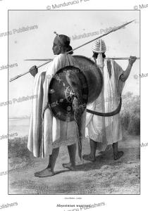 abyssinian war dress, e. prisse d'avennes, 1851f