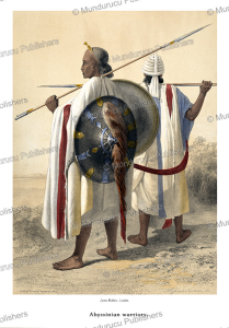 Abyssinian warriors, E. Prisse D'Avennes, 1851-2 | Photos and Images | Travel