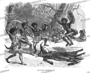The Buffalo dance of the Gallas (Oromo) people, Abyssinia, Johann Baptist Zwecker, 1870 | Photos and Images | Travel