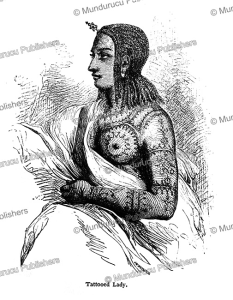 Tigre´ woman with tattoos, Abyssinia, Josiah Wood Whymper, 1868   Photos and Images   Travel