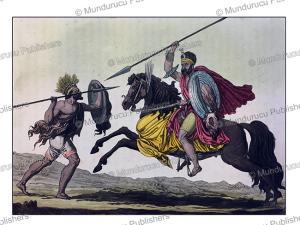 abyssinian militia, giulio ferrario, 1816