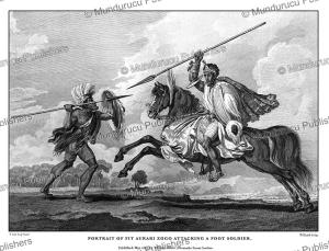 Fit Aurari Zogo on horseback, Ethiopia, H. Salt, 1809 | Photos and Images | Travel