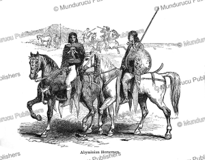 Abyssinian horsemen, Josiah Wood Whymper, 1868 | Photos and Images | Travel