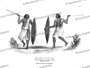 Shageea fighting, L. Bandoni, 1835 | Photos and Images | Travel