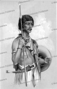 Danakil warrior, Ethiopia, Major W. Cornwallis Harris, 1845f | Photos and Images | Travel