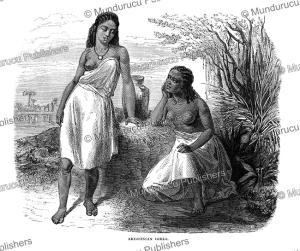 abyssinian girls, robert brown, 1880