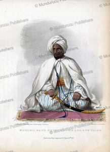 sheikh sayd (zayed), chief of the ababde tribe, ethiopia, l. bandoni, 1835
