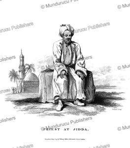 a priest at jidda (djedda), saudi arabia, h. salt, 1809