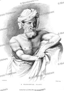 a massowah (massawa) pilot or guide, abyssinia, h. salt, 1809