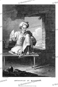 An Abyssinian at Massowah (Massawa), Abyssinia, H. Salt, 1809 | Photos and Images | Travel