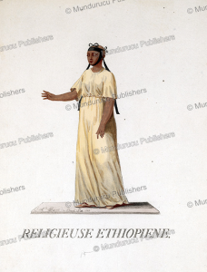 religious ethiopian woman, jacques charles bar, 1782