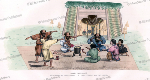 Ainu celebrating the Bear feast Omsia, J. Erxleben, 1831 | Photos and Images | Travel