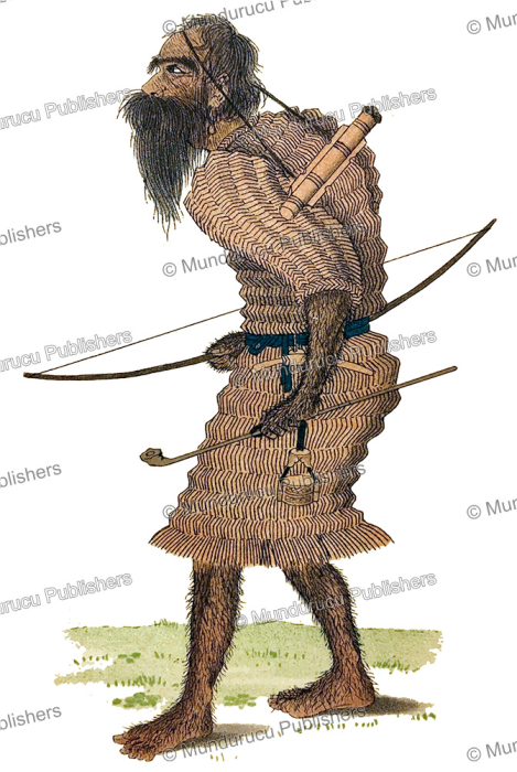 First Additional product image for - Hairy Ainu hunter, David Mac Ritchie, 1892