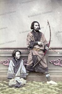 ainu archer, 1875
