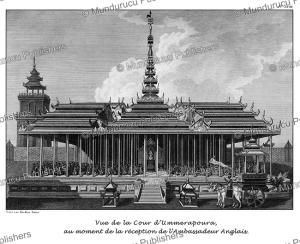 view at the heart of amarapura, burma, tardieu l'ai^ne´, 1800