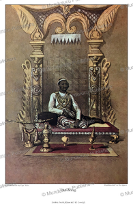 The King of Ava, Burma, Henry Yule, 1855 | Photos and Images | Travel