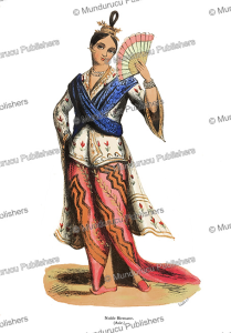 Noble Birman woman, L. Lisbet, 1843   Photos and Images   Travel