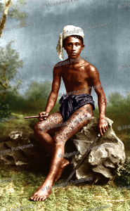 Tattooed villager, Burma, Philip Klier, 1887   Photos and Images   Travel