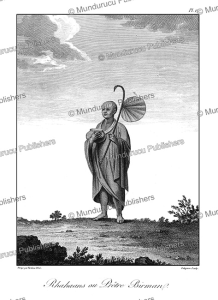 Rhahaans or Birman priest, Burma, Tardieu L'ai^ne´, 1800 | Photos and Images | Travel