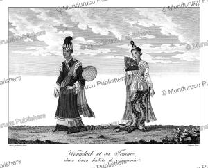 second tier state councilor and his wife, burma, tardieu l'ai^ne´, 1800