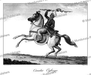 Burmese cavalry, Burma, Tardieu L'ai^ne´, 1800 | Photos and Images | Travel