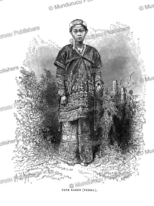 Karen woman, Burma, Alphonse de Neuville, 1873 | Photos and Images | Travel