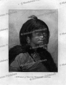 a woman of prince william's sound, alaska, john webber, 1784