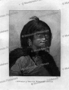 A woman of Prince William's Sound, Alaska, John Webber, 1784 | Photos and Images | Travel