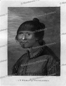 a woman of unalaska, alaska, john webber, 1784
