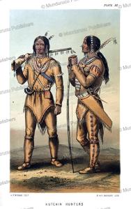 Athabaskans or Kutchin hunters, Alaska, A.H. Murray, 1851 | Photos and Images | Travel