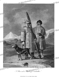 man and woman of unalaska, alaska, w. alexander, 1802