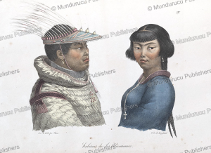 natives of the aleutian islands, alaska, ludwig choris, 1822