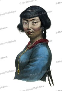 woman of the aleutian islands, alaska, ludwig choris, 1822