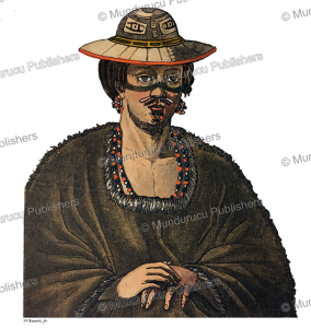man from kodiak island, alaska, d. bonatti, 1826