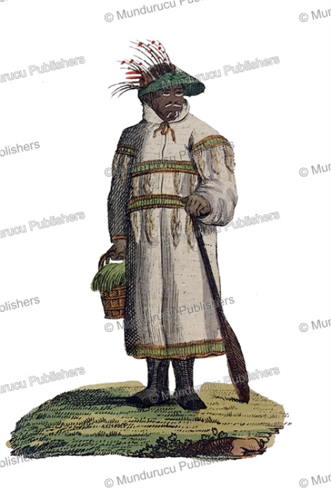 First Additional product image for - A man of Unalaska, Alaska, Carl Bertuch, 1821
