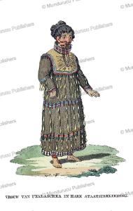 Woman of Unalaska in traditional dress, Alaska, Woronin, 1808 | Photos and Images | Travel