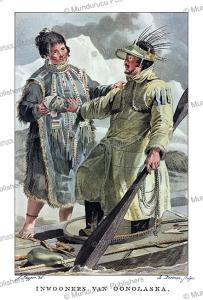 Natives of Unalaska, Alaska, Jacques Kuyper, 1802 | Photos and Images | Travel