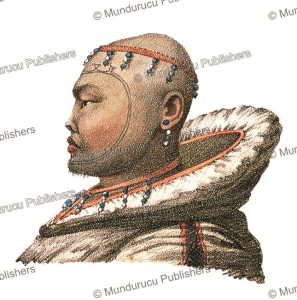 tattooed natives of st. lawrence island island, alaska, louis choris, 1821