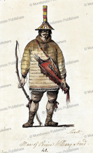 a man of prince william sound, alaska, philippe jacques de loutherbourg, 1785