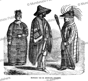 Inhabitants of the Aleutian Islands, Alaska, Hemann Wagner, 1862 | Photos and Images | Travel