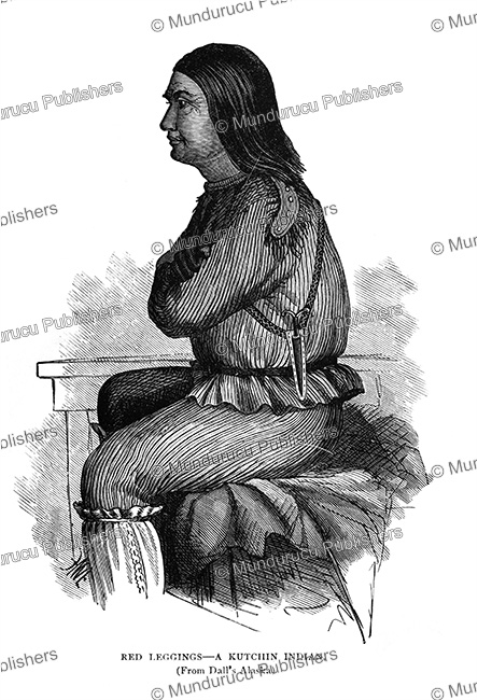 First Additional product image for - Tanana Athabaskan Indian, Alaska, Frederick Whymper, 1869